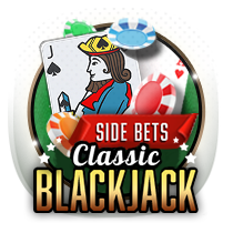Classic Blackjack card-and-table