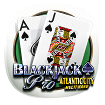 Atlantic City Multihand Blackjack card-and-table
