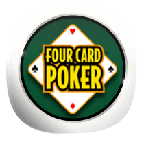 Four Card Poker card-and-table