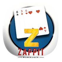 Zappit Blackjack card-and-table