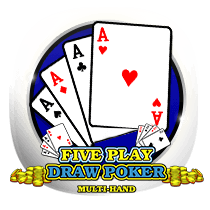 Five Play Draw Poker card-and-table