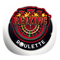 Blazing 7s Roulette card-and-table