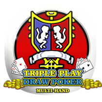Triple Play Draw Poker card-and-table